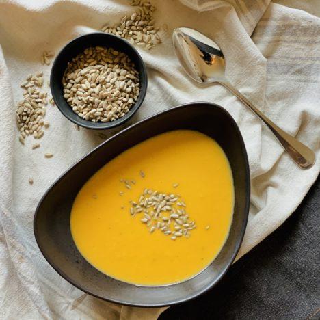 Einkaufsliste: Deine Zutaten für Folge 009 – Süßkartoffel-Kokos-Suppe