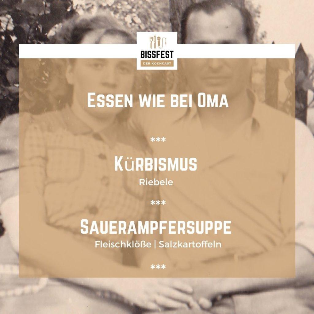 Menü, Ostpreußische Küche, Familienrezepte, Bissfest, Kochcast, Podcast, Bissfest - Der Kochcast