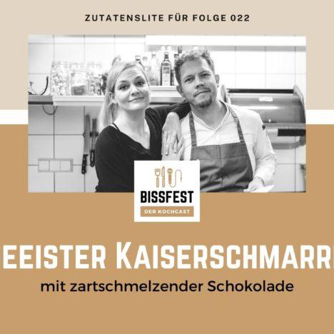 Rezept: Geeister Kaiserschmarrn mit Schokolade
