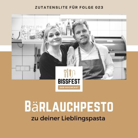 Rezept: Bärlauchpesto