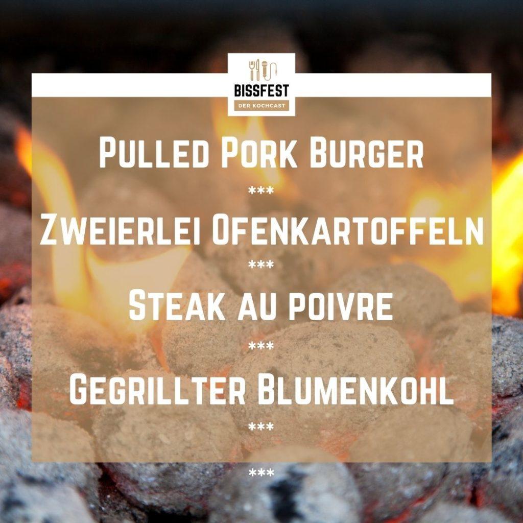 Rezepte für BBQ, BBQ, Menü, Essen, Podcast, Bissfest - Der Kochcast