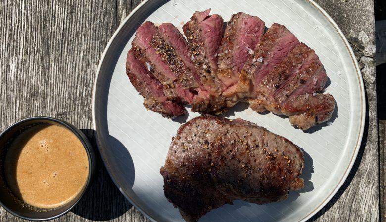 Steak, Steak au poivre, Pfeffersteak, BBQ, Rezept, Bissfest, Kochcast, Essen, Bissfest - Der Kochcast