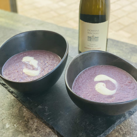 Rezept: Cremige Karotten-Ingwer-Suppe